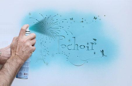 fabricant de pochoirs sur mesure street marketing dcoration signaltique logo photo texte - Comment Fabriquer Un Pochoir Peinture